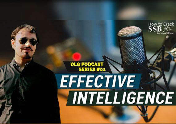 Effective Intelligence OLQ podcast #01