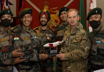Proud moment: Indian Army wins Gold at military patrol exercise in UK
